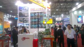 CEVISA bevelling machines on BEIJING ESSEN WELDING & CUTTING FAIR 2015 trade show