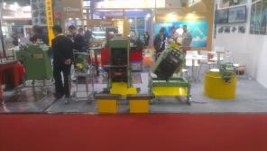 CEVISA bevelling machines on BEIJING ESSEN WELDING & CUTTING FAIR 2015 trade show