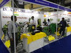 CEVISA bevelling machines on INDIA ESSEN WELDING & CUTTING 2016 trade show