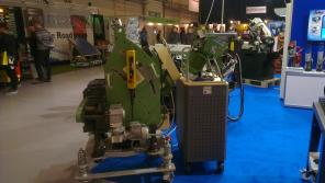 CEVISA bevelling machines on INSTRUCTEC 2015 trade show