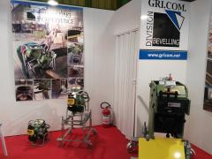 CEVISA bevelling machines on LAMIERA 2016 trade show