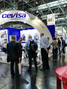 Beveling machines CEVISA for SCHWEISSEN & SCHNEIDEN trade show