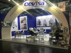 Bevelers and self-feed bevelling machines CEVISA for SCHWEISSEN & SCHNEIDEN trade show