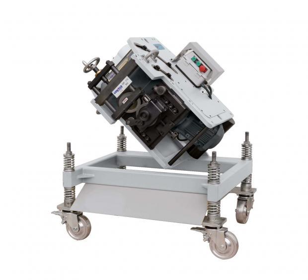 Reversible shearing cutting bevelling machine CHP 21 G REV