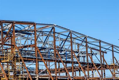 Civil metal structures