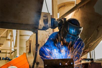 Maintenance and welding