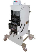 Adjustable shearing cutting bevelling machine CHP 21 G INV