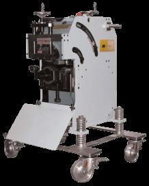 Adjustable shearing cutting bevelling machine CHP 21 G