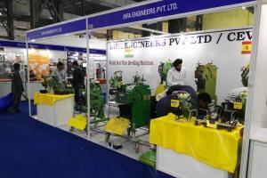 CEVISA bevelling machines on INDIA ESSEN WELDING & CUTTING 2016 trade show