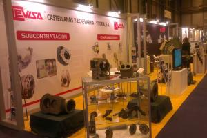 CEVISA bevelling machines on METALMADRID 2015 trade show
