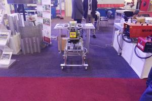 CEVISA bevelling machines on STEELFAB 2017 trade show