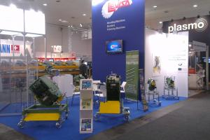 CEVISA bevelling machines on EUROBLECH 2014 trade show